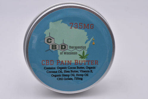 735mg CBD Pain Butter