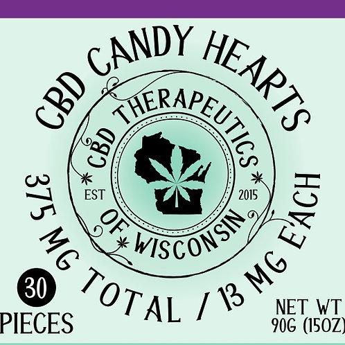 375mg CBD Candy Hearts