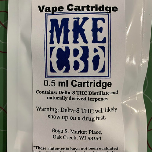 Delta 8 Vape Cartridge  (.5ml)