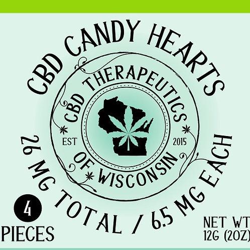 26mg CBD Candy Hearts