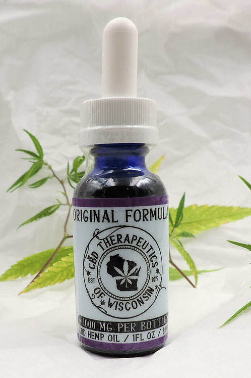 1000mg CBD Original Formula (Isolate) Oil