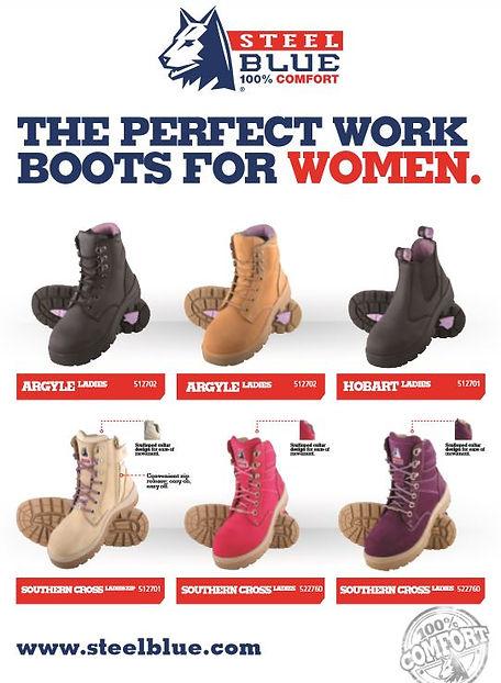 WOMENS WORKBOOTS