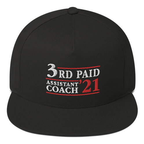 3rd Paid Assistant Snapback Hat