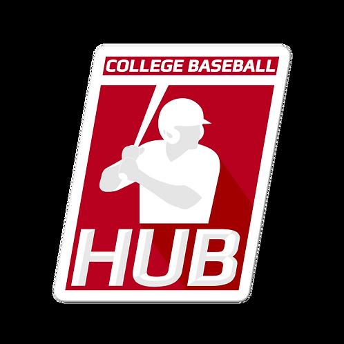 College Baseball Hub Sticker