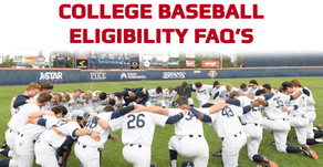 College Baseball Eligibility FAQ's
