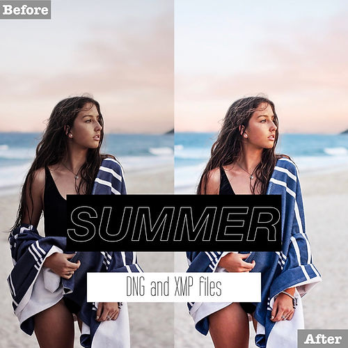 free summer lightroom presets dng