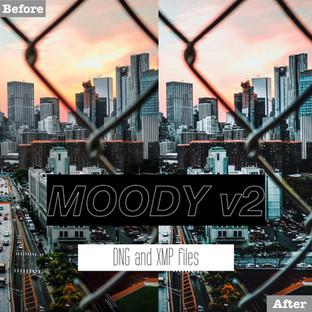 Free Moody v2 Lightroom Presets