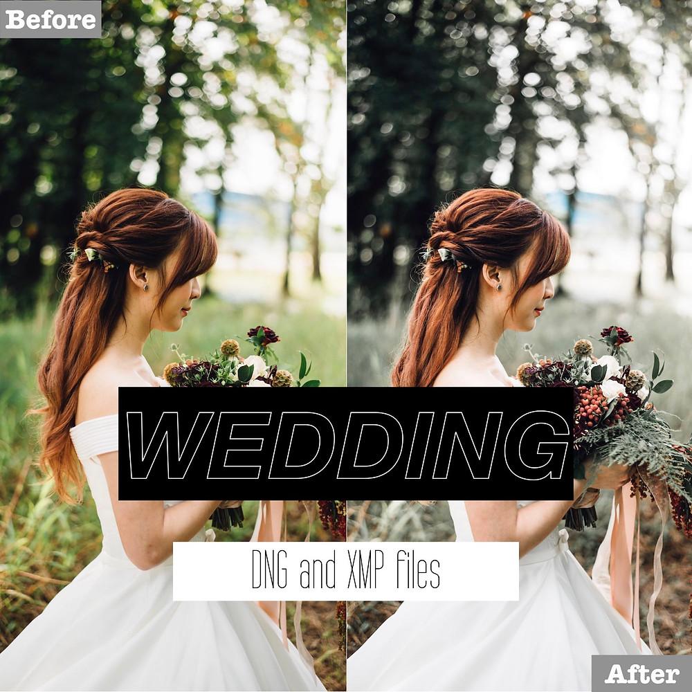 Wedding Lightroom Presets - Wedding Photography