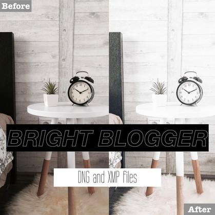 Free Bright Blogger Lightroom Presets