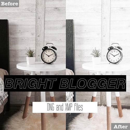 bright blogger lightroom presets for free
