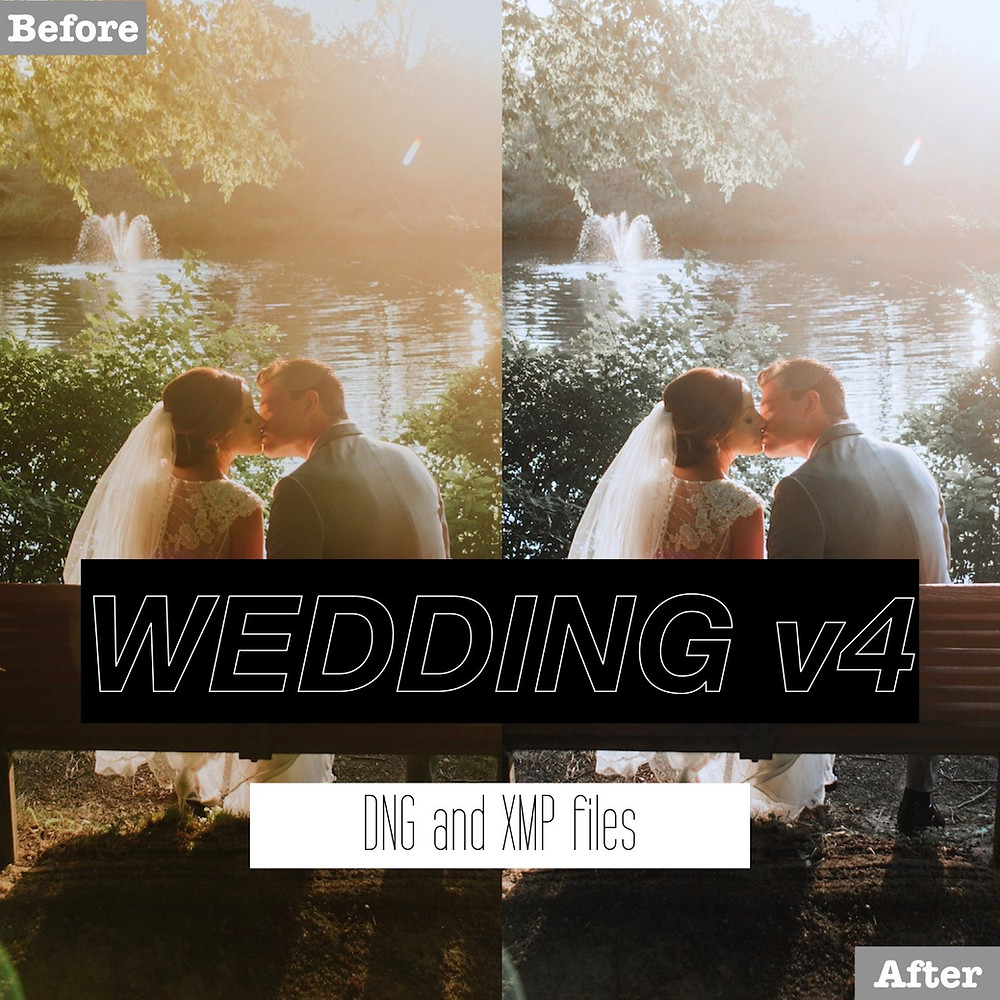 Outdoor Wedding Lightroom Presets
