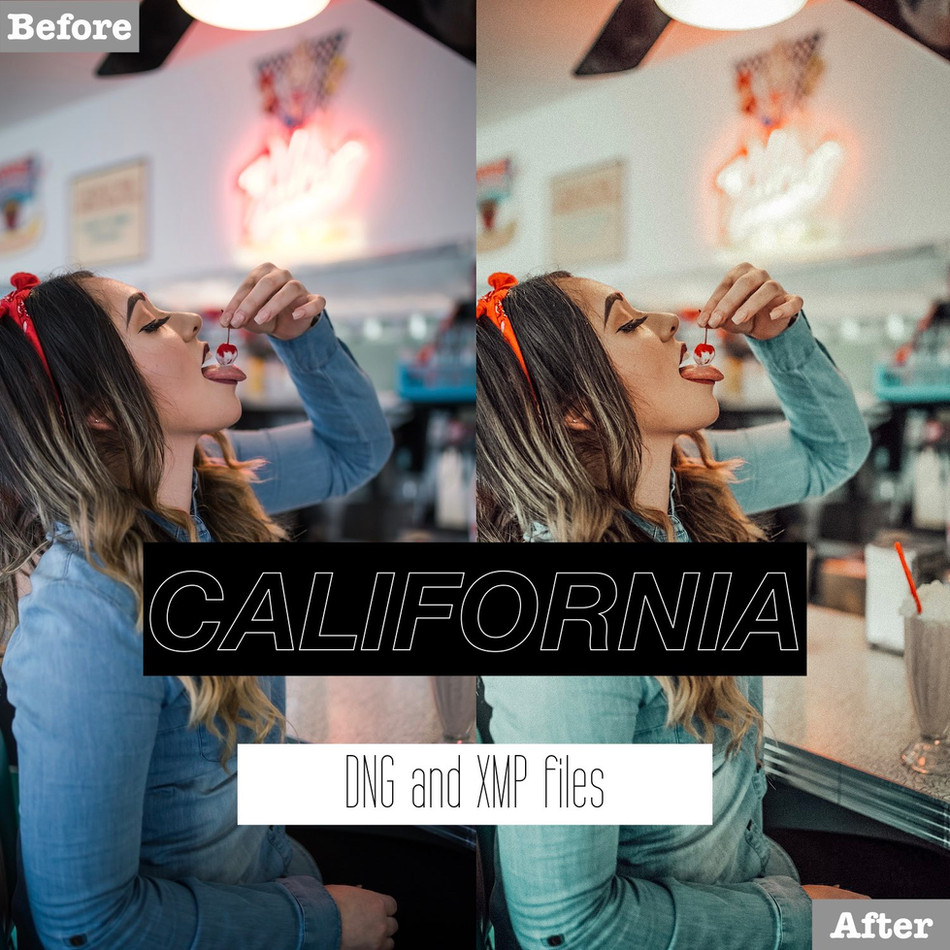 California Lightroom Presets