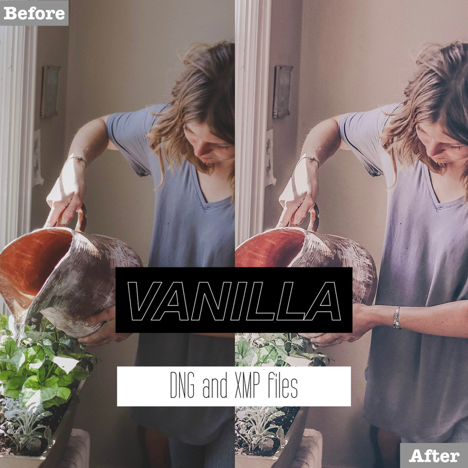 Vanilla Lightroom Presets