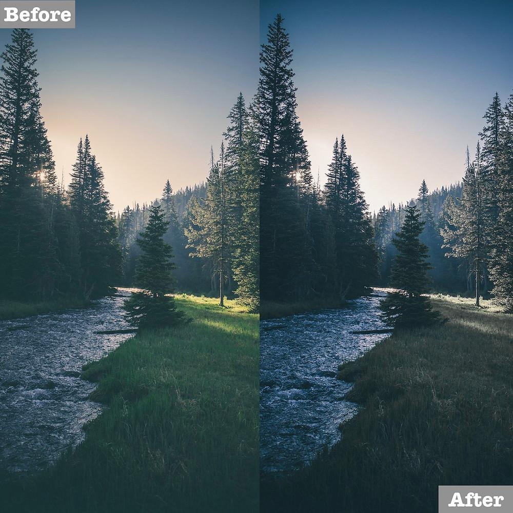 Landscape Lightroom Presets, Free Download Available