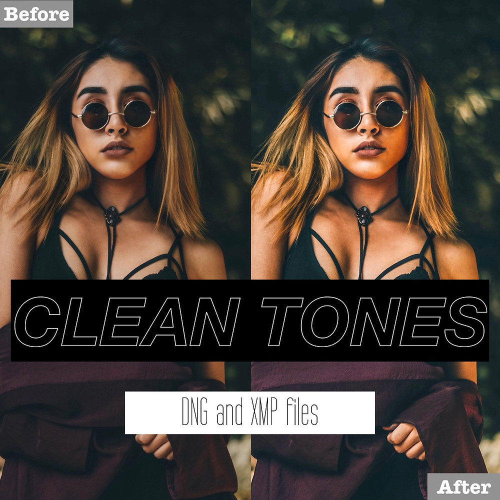 Clean and Vibrant Lightroom Presets