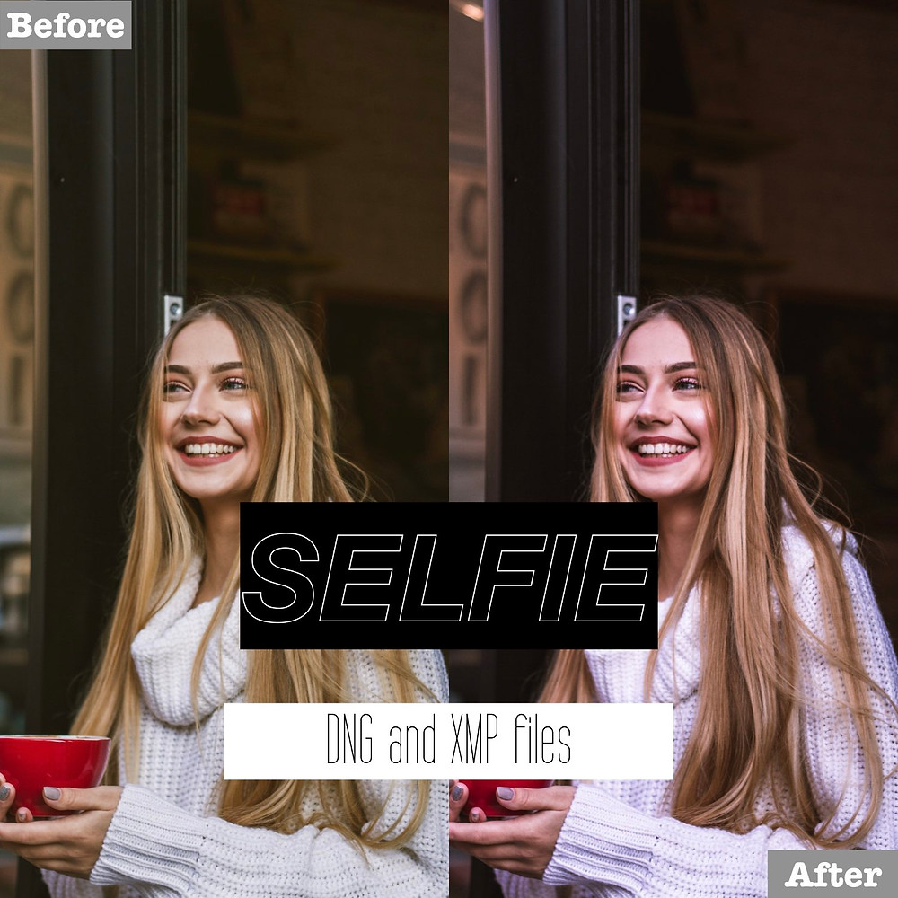 Selfie Lightroom Presets