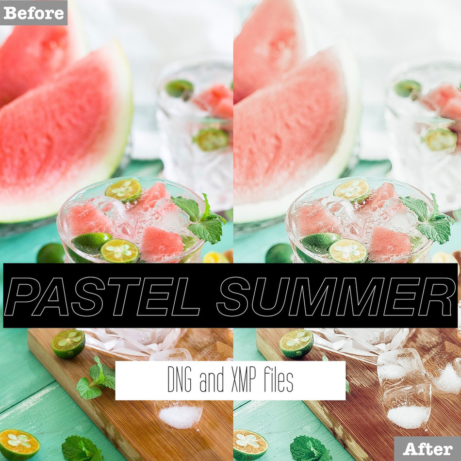 Pastel Summer Lightroom Presets