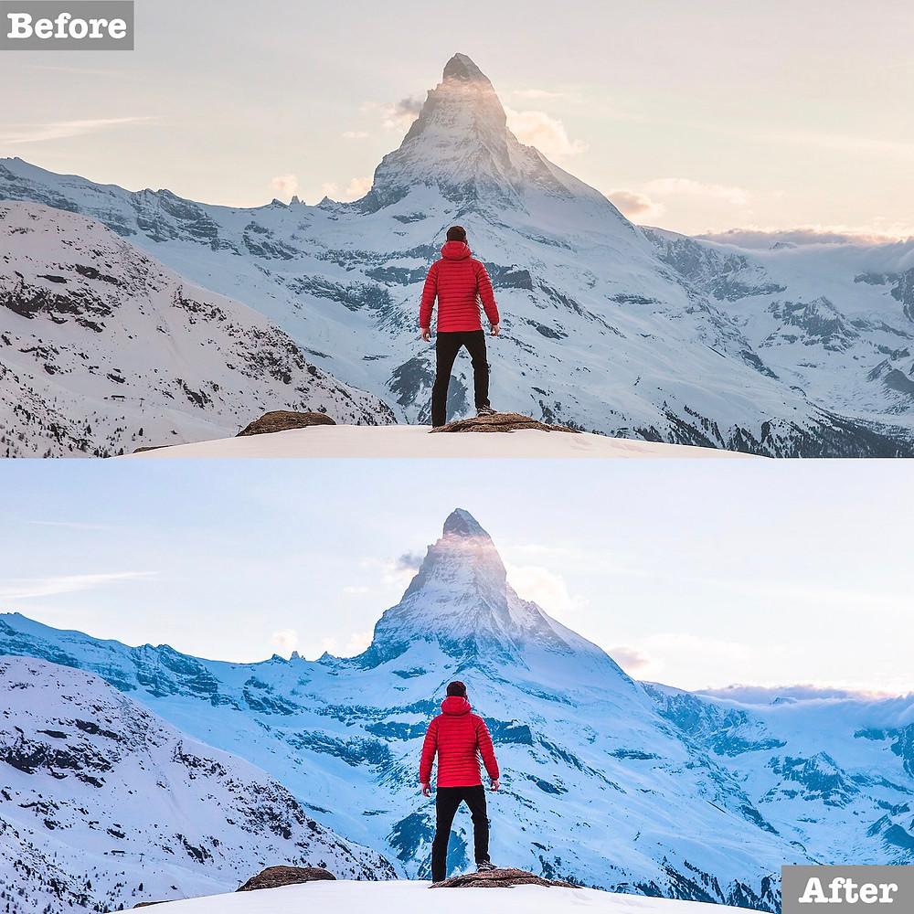Chris Burkard Edit, Winter Preset, Click to Download