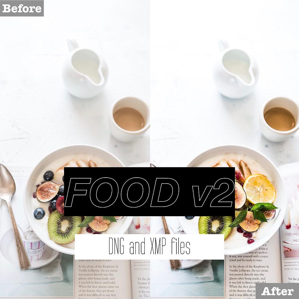 Foodie Lightroom Presets