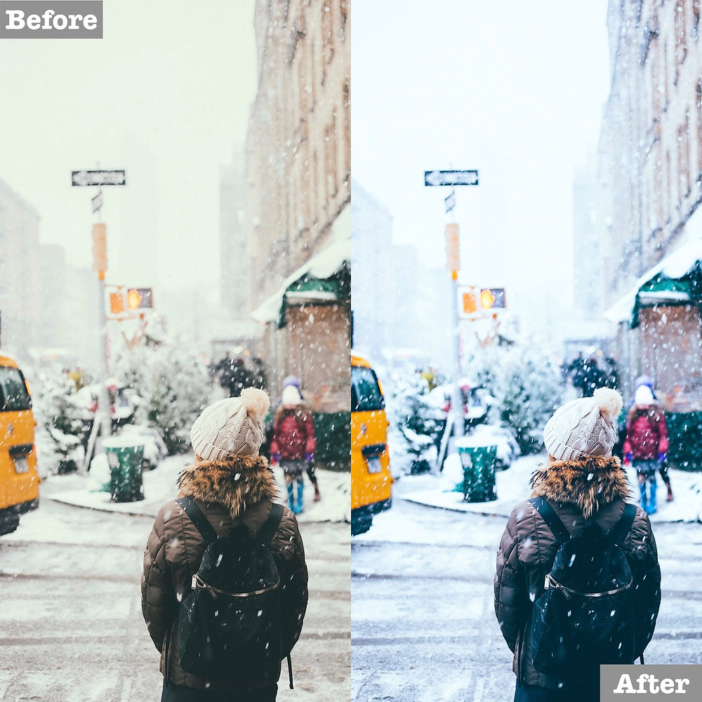 Winter Preset, Free Download Available