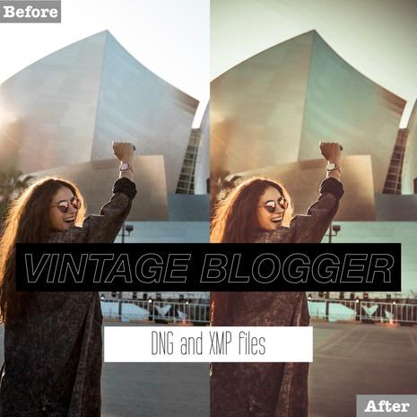 Vintage Blogger Lightroom Presets