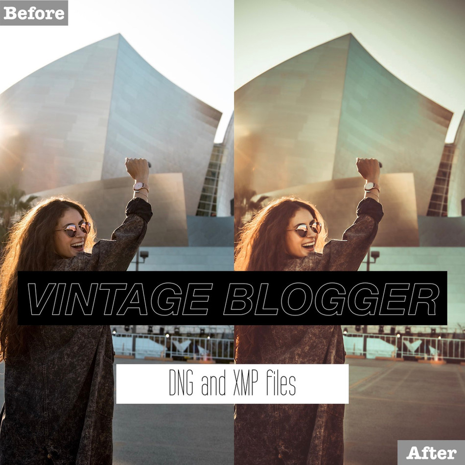 Vintage Blogger Lightroom Presets