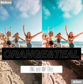 Free Orange and Teal Lightroom Presets