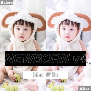 Free Newborn v4 Lightroom Presets