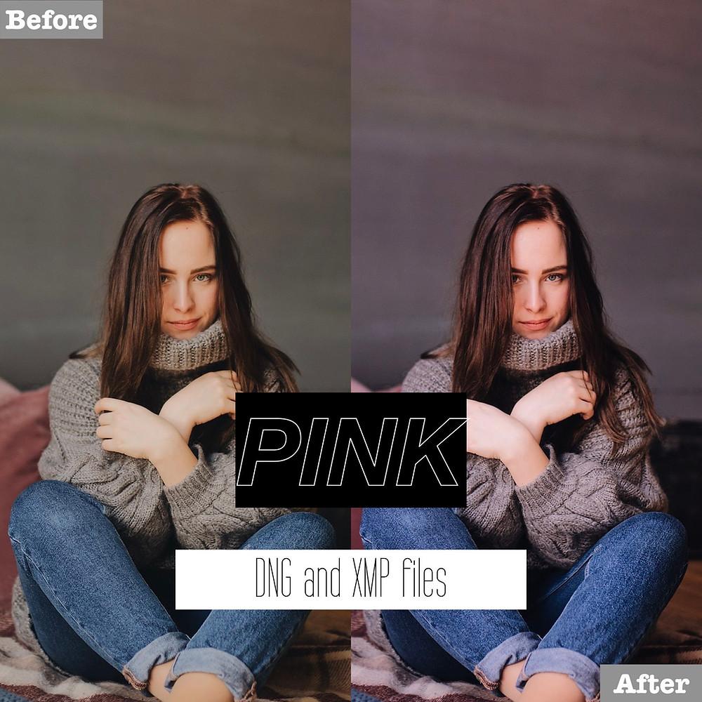 Pink Lightroom Presets