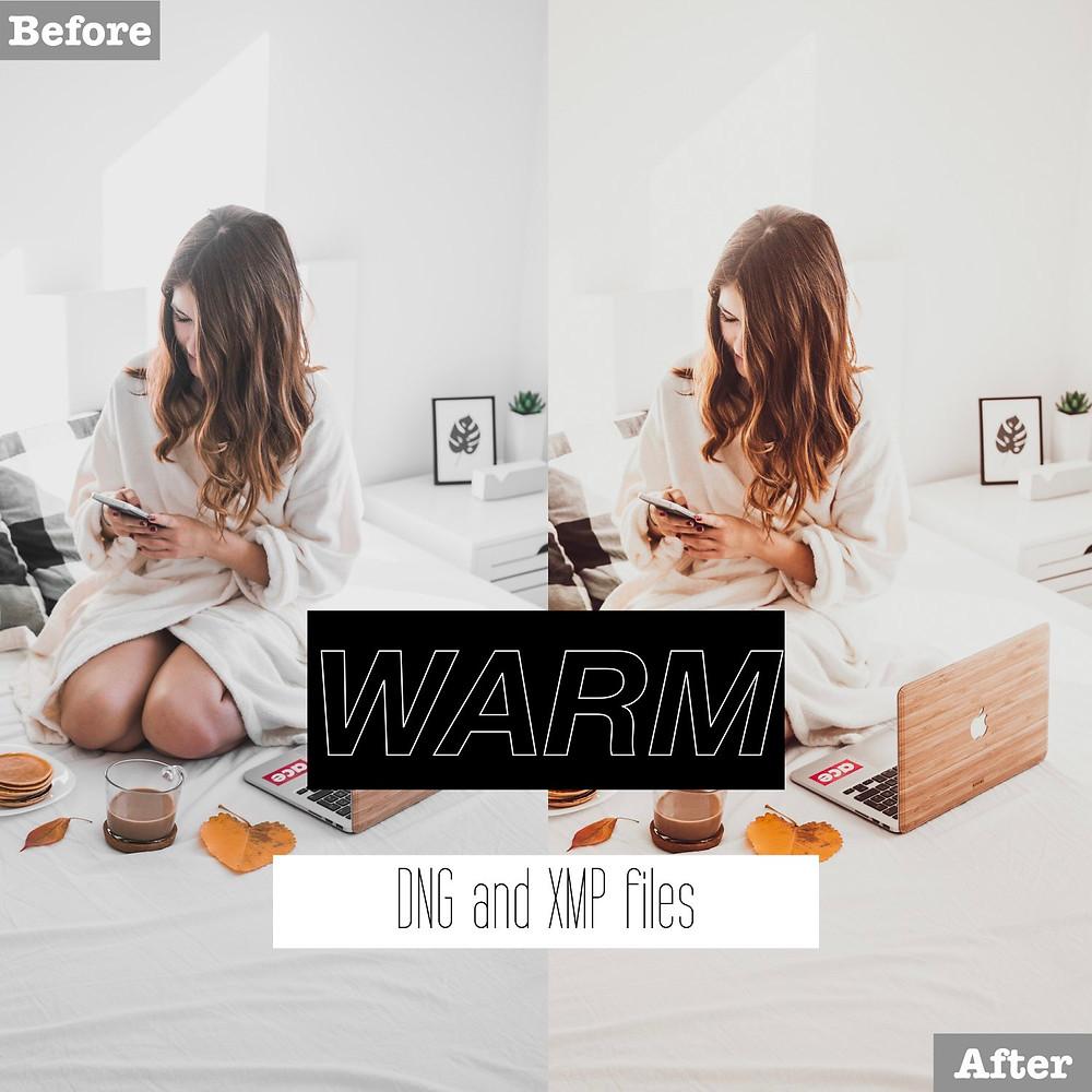 Warm Lightroom Presets