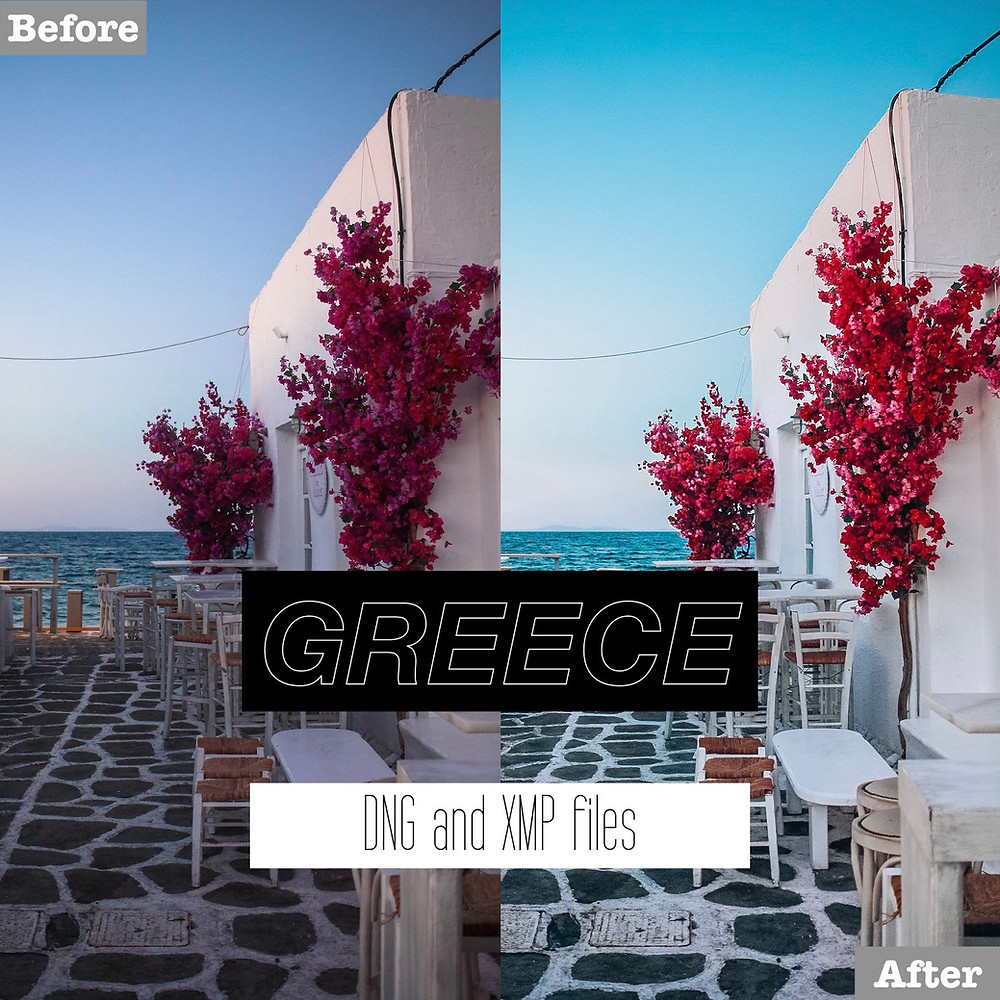 Greece Mediterranean Lightroom Presets