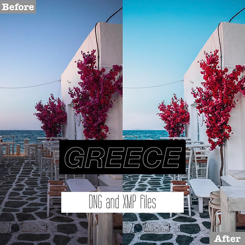 greece lightroom presets for free
