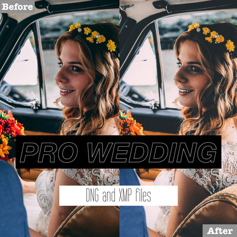 Professional Wedding Lightroom Presets