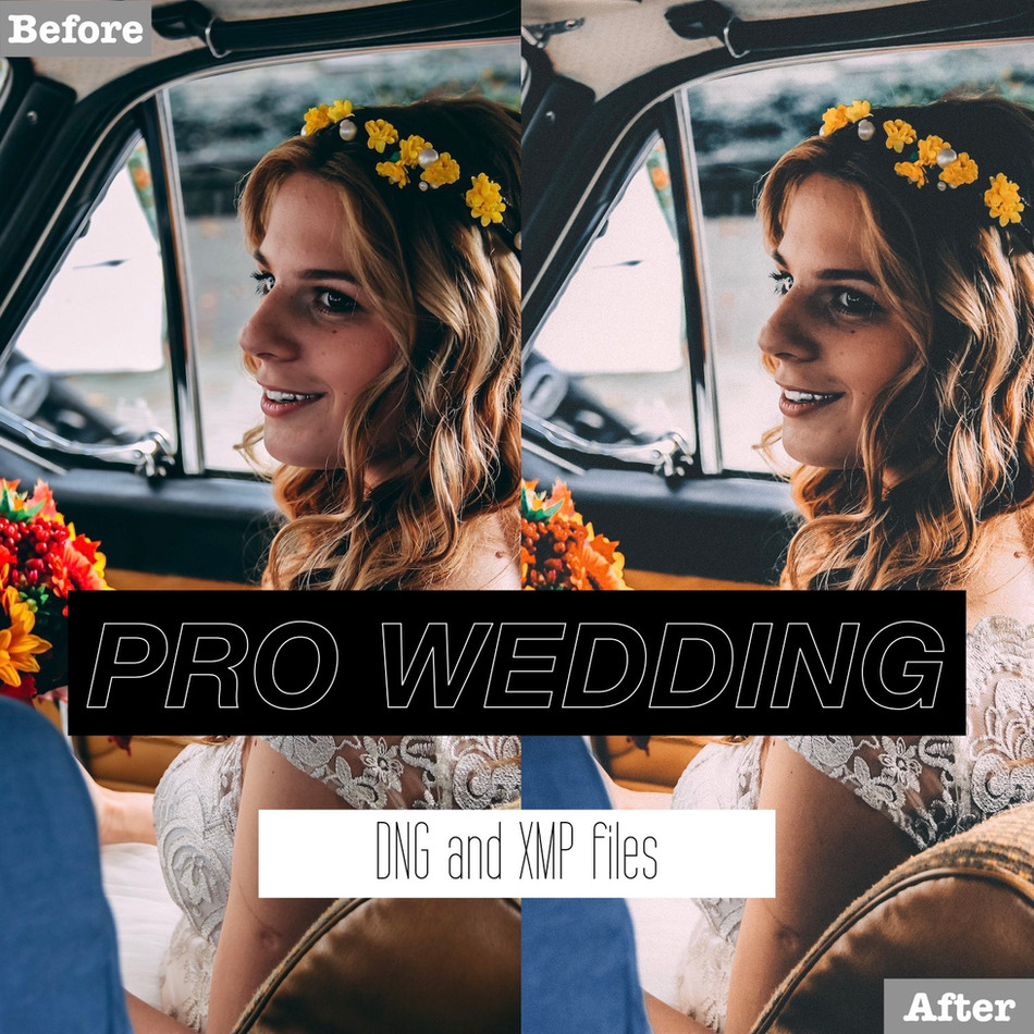 Professional Wedding Lightroom Presets