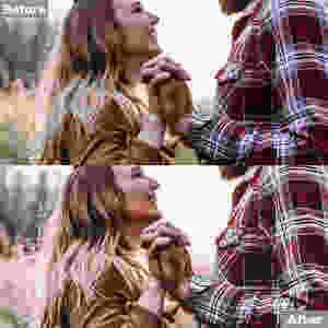 Cinematic Preset edit, Click to get