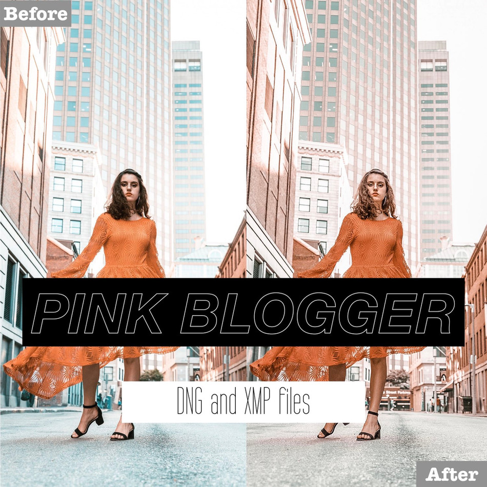 Pink Blogger Lightroom Presets