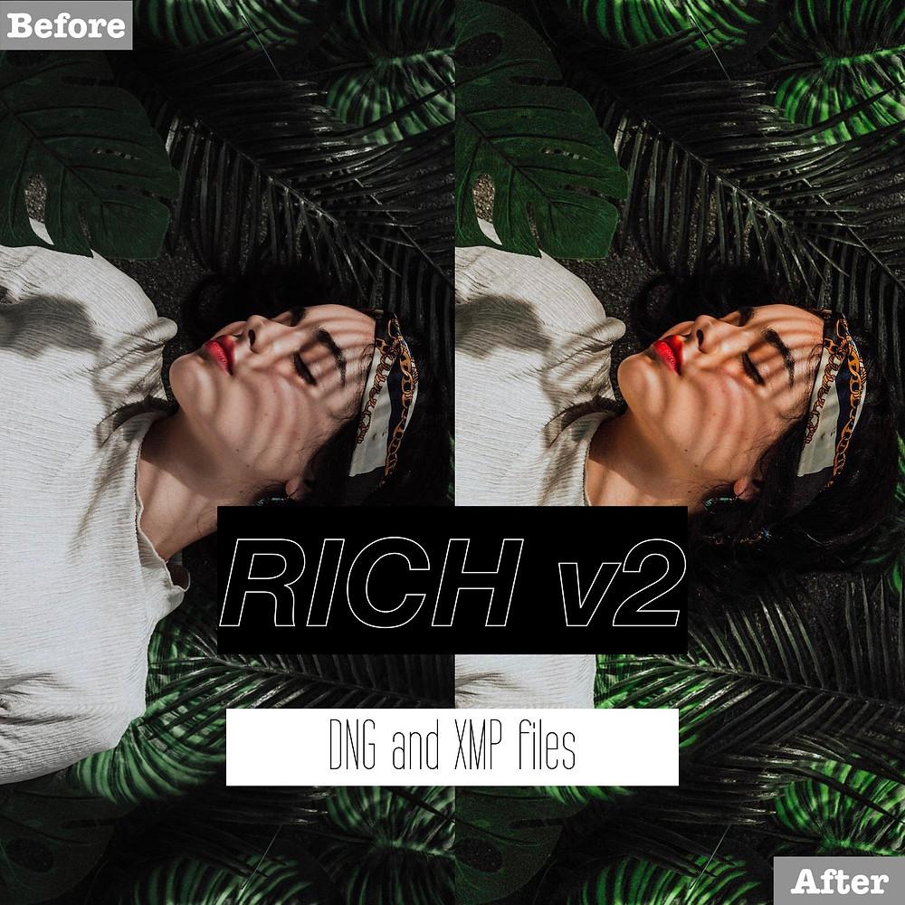Rich version 2 Lightroom Presets