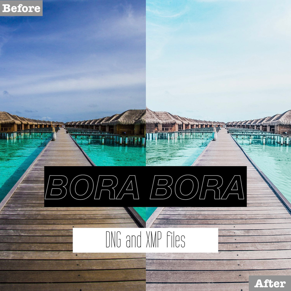 Bora Bora Lightroom Presets