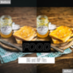 free food lightroom presets dng