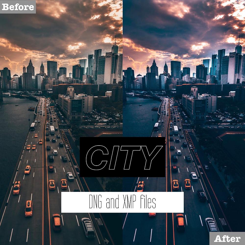 Dark and City Lightroom Presets