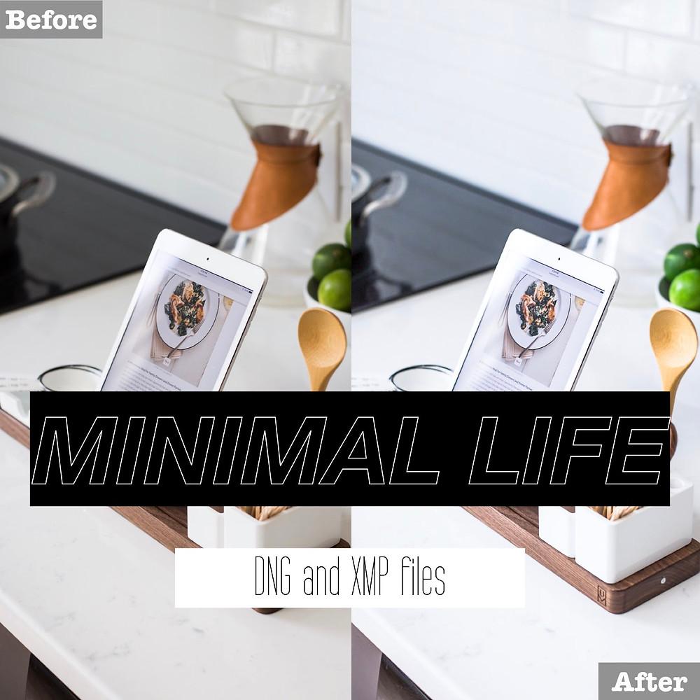 Minimalist Lightroom Presets