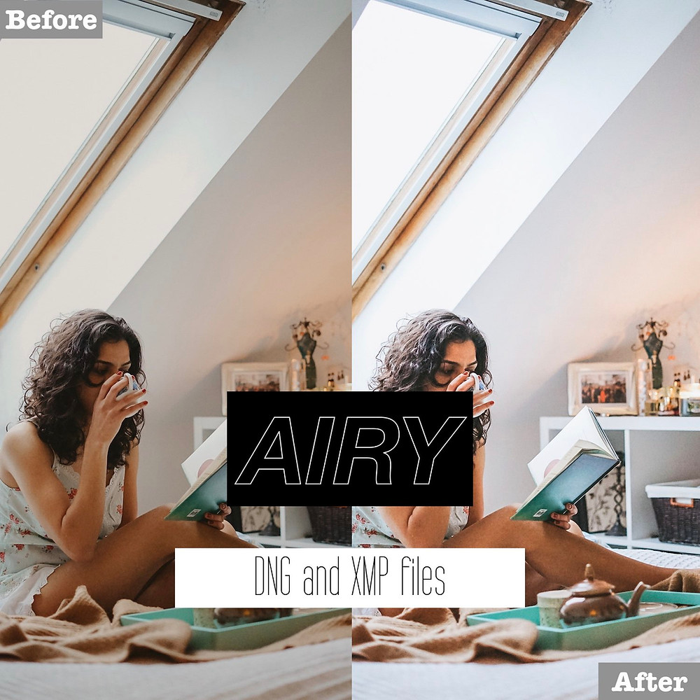 Airy and Bright Lightroom Presets