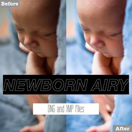 Free Newborn Airy Lightroom Presets