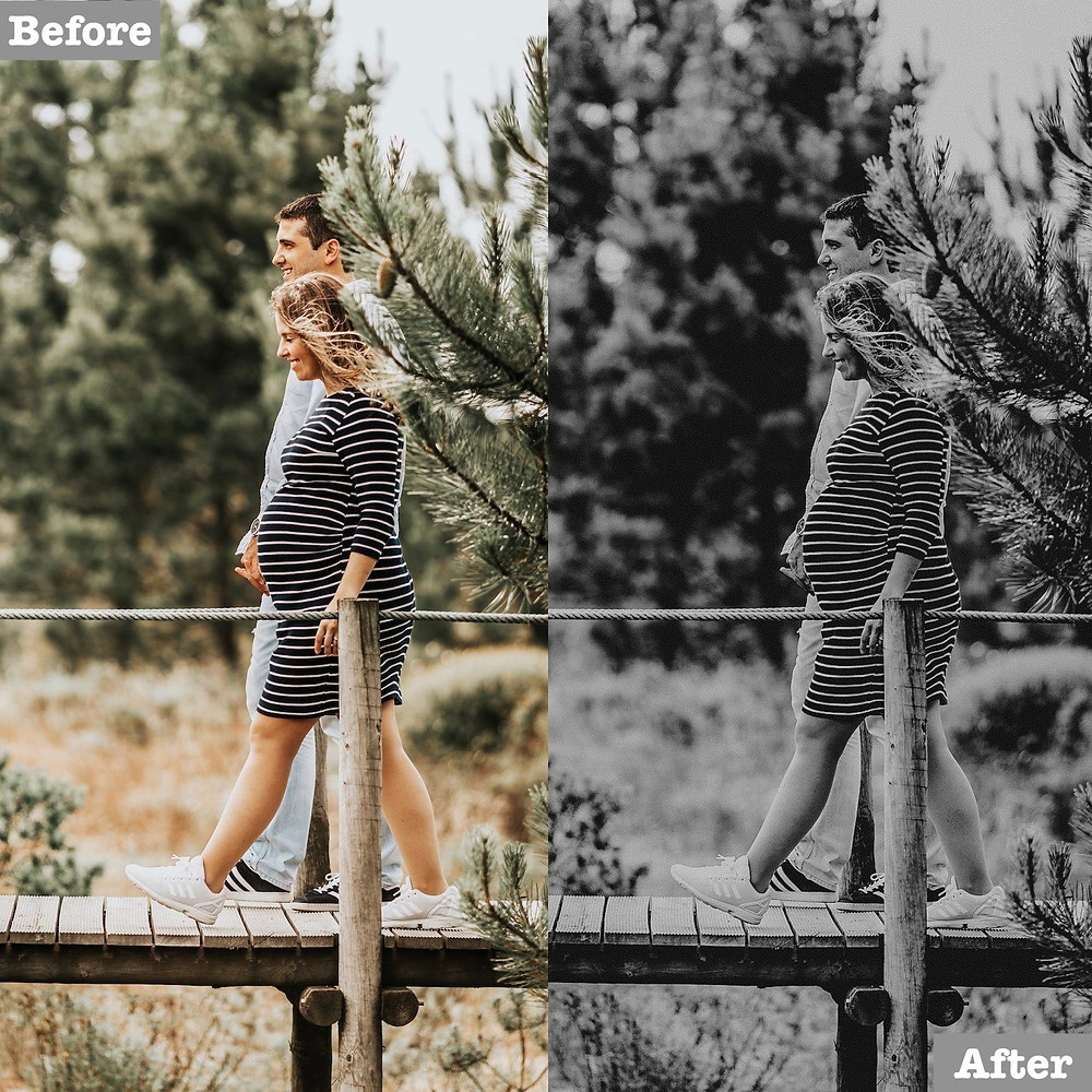 B&W Preset Edit, Click to get