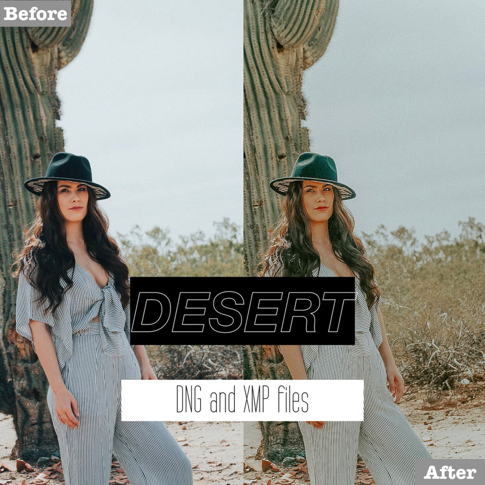 Desert Lightroom Presets
