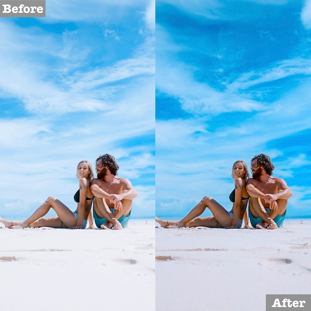 Beach Preset, Click to download