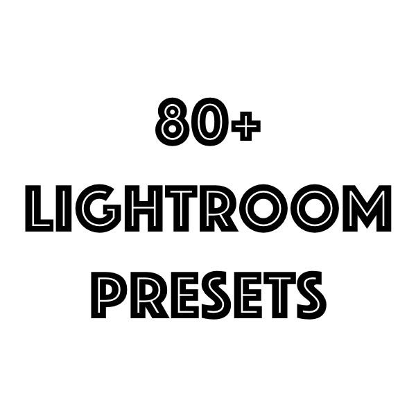 Lightroom Preset Bundle Cover