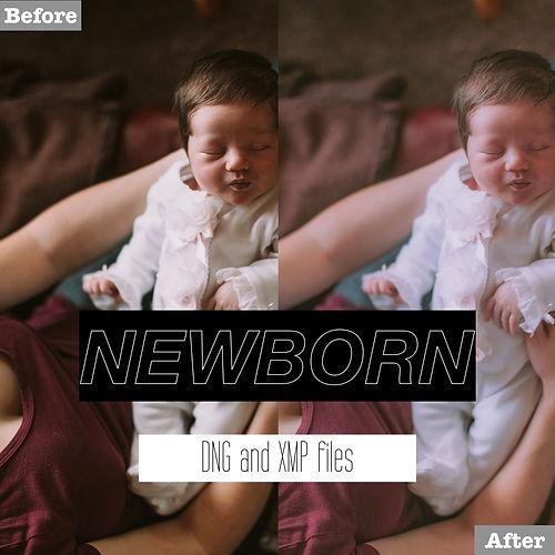 free newborn lightroom presets dng