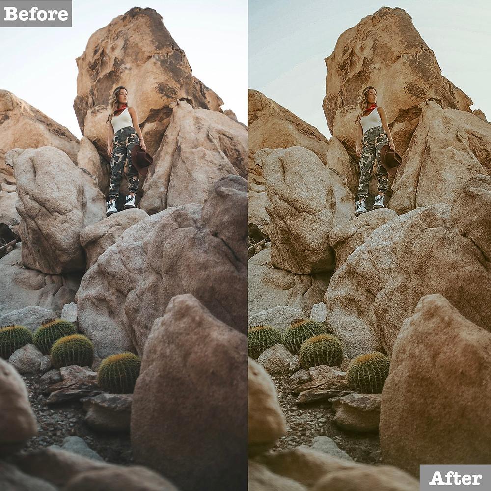 Desert Lightroom Preset, Click to Download