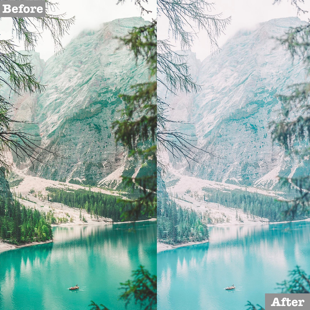 Bright and Teal Lightroom Presets